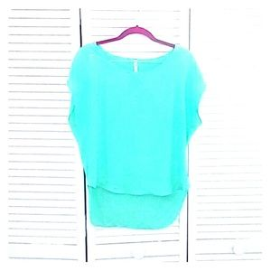 Blouse Mint Color